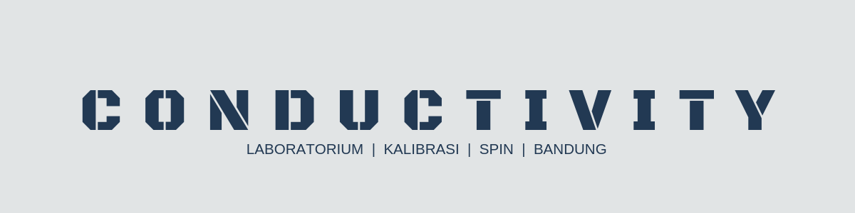 Kalibrasi Conductivity Meter
