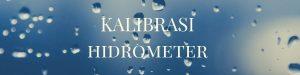 KALIBRASI hidrometer