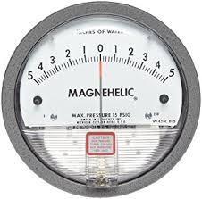 Magnehelic Differential Pressure