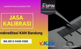 Jasa Kalibrasi Terakreditasi KAN Bandung